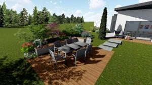 Projet de jardin