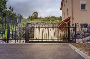 cloture et portail